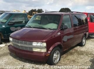 2003 Chevy Astro Van #408 (Lot 1)