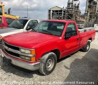 1998 Chevy GM4 Pick-up Truck #132 (Lot 2)