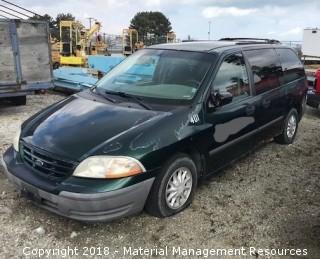 2000 Ford Windstar Van #401 (Lot 5)
