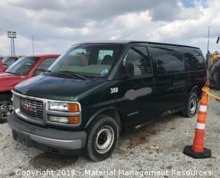 2002 GMC Savanna Van #388 (Lot 6)