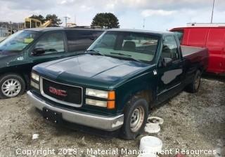 1998 GMC Sierra Pick-up Truck #166 (Lot 7)