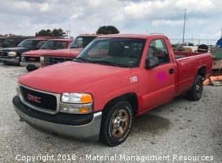 2000 GMC Sierra Pick-up Truck #383 (Lot 8)