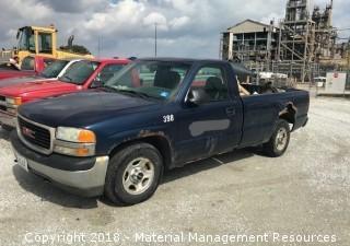 2000 GMC Sierra Pick-up Truck #398 (Lot 10)