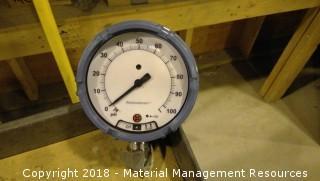 6 Each - Unused Rosemount Gauges - 0 to 100 PSGI