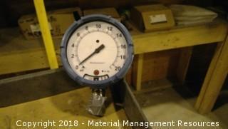 6 Each - Unused Rosemount Gauges - 0 to 20 PSGI