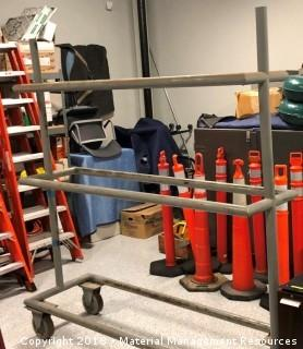 Shop Built Tire Rack
