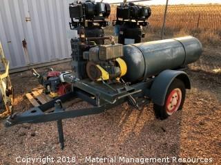 Trailer Mounted Air Compressor