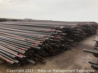 """2,781 Joints of 2 7/8"""" Red Band Tubing"""