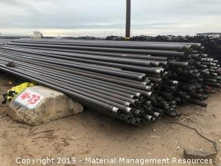 """1,931 Joints of 3 1/2"""" Red Band Tubing"""
