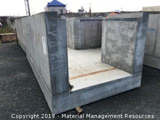 Precast Concrete Trenches with Special Rigging