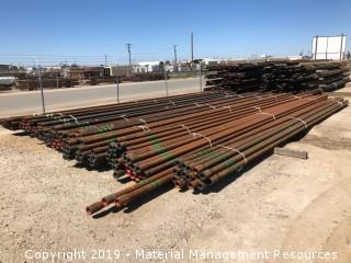 "199 Joints of 2-7/8"" Green Band Tubing (Bid per Joint)"