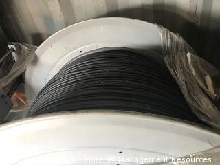 Fiber Optic Cable and Metal Spool