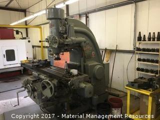 Kearney & Trecker Milling Machine Model 330-430 TF s/n TF4007