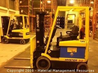 Hyster Forklift #549