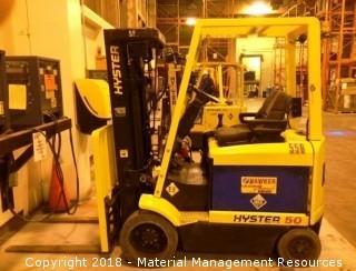 Hyster Forklift #556