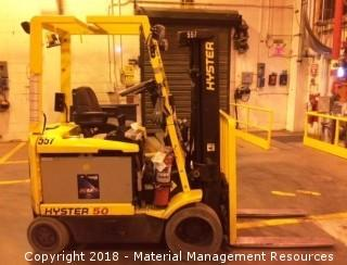 Hyster Forklift #557